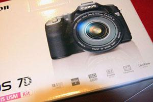 Caixa Canon EOS 7D ASP