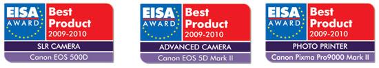 EISA AWARD Canon
