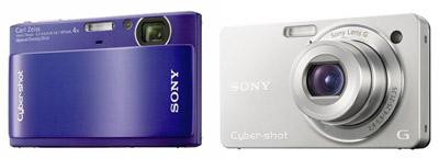 Sony Cyber-shot DSC-TX1 e DSC-WX1