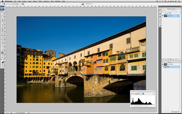 imagem de médio contraste Fotometria + Flash   parte 4 de 9   O Histograma