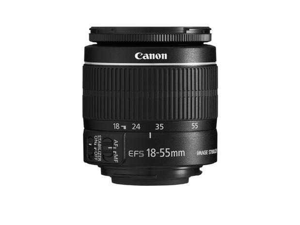 EF S 18 55mm f3.5 5 Capte todos os momentos das suas aventuras com a nova EOS 600D | Rebel T3i