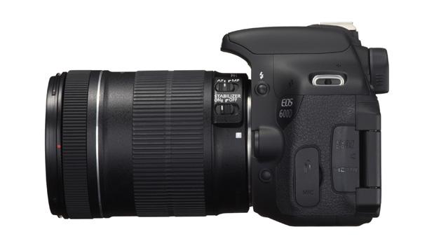EOS 600D LEFT SIDE w EF S 18 135mm IS Capte todos os momentos das suas aventuras com a nova EOS 600D | Rebel T3i
