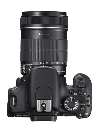 EOS 600D TOP w EF S 18 135mm IS Capte todos os momentos das suas aventuras com a nova EOS 600D | Rebel T3i