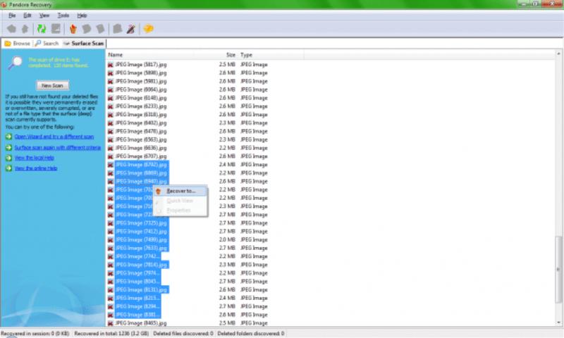Ele permite que você selecione todas ou algumas fotos 619x372 Como recuperar fotos dos cartões de memória corrompidos