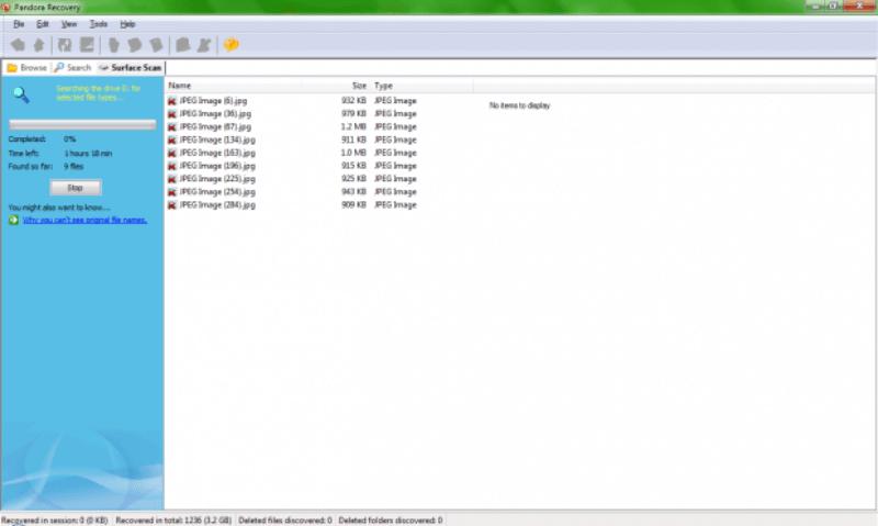 Fazer a busca nos arquivos deletados 619x371 Como recuperar fotos dos cartões de memória corrompidos