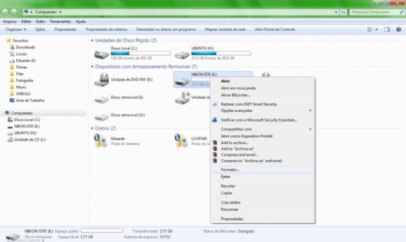 Formatar cartão de memória 619x370 Como recuperar fotos dos cartões de memória corrompidos