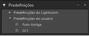 LR4 Criando seus próprios presets no Lightroom