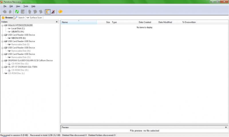 Na interface do programa 619x372 Como recuperar fotos dos cartões de memória corrompidos
