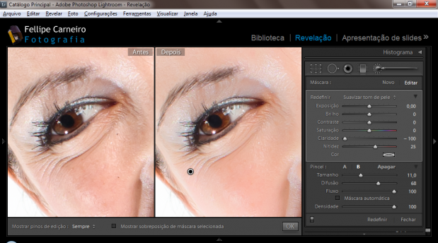 Retocando pele com o Adobe Lightroom 619x344 Retocando rostos com o Adobe Lightroom
