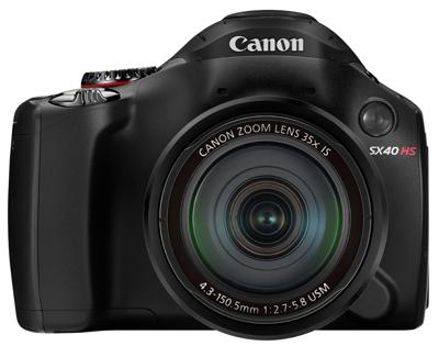 Canon PowerShot SX40 HS1 Canon apresenta PowerShot SX40 HS