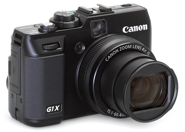 Canon G1X - (c) DPreview
