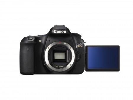 EOS 60Da FRT w LCD DISPLAY 450x337 Canon apresenta EOS 60Da