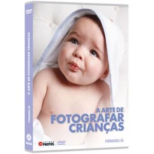 DVD A Arte de Fotografar Crianças