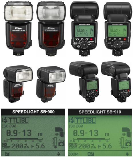 Diferenças entre o Sb-900 e o Sb-910