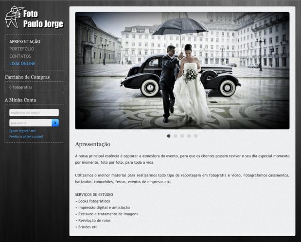 portefólio online