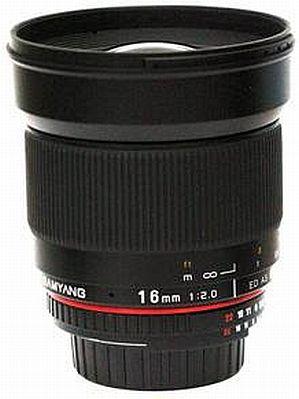 Samyang 16mm f2.0