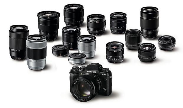 Fujifilm X-T1 e objetivas Fujinon XC e XF