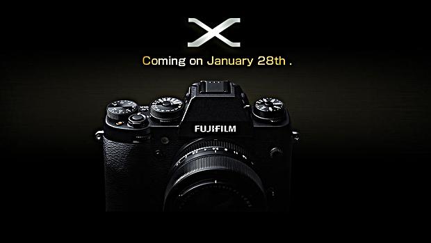 Teaser da Fujifilm para o dia 28/01/14