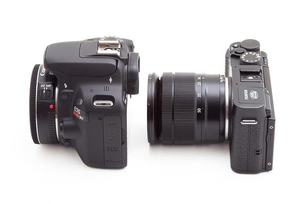 Canon SL1 e Fujifilm X-M1 - (c) Alessandro Veeck