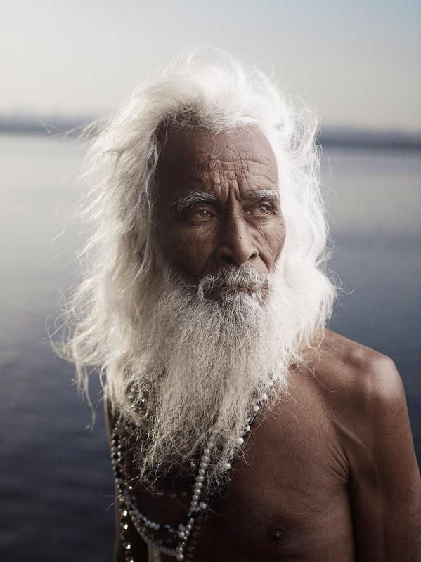 Joey Lawrence e os homens santos da Índia | Fotografia-DG