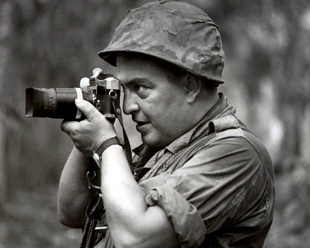 Horst Faas em campo