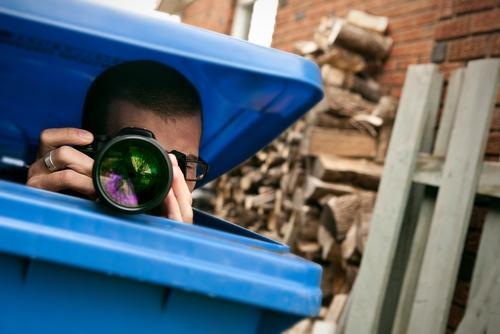 Paparazzo - os paparazzi nem deviam sair do lixo...