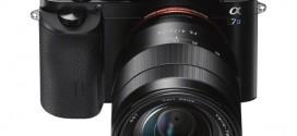 Anunciada a Sony A7s, a nova mirrorless full-frame