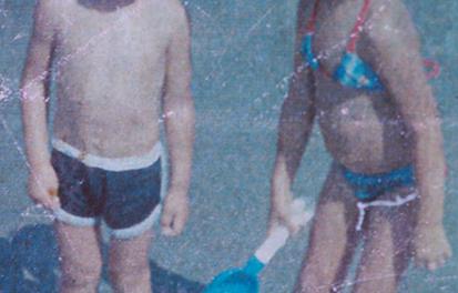 Renato Riani e sua irmã