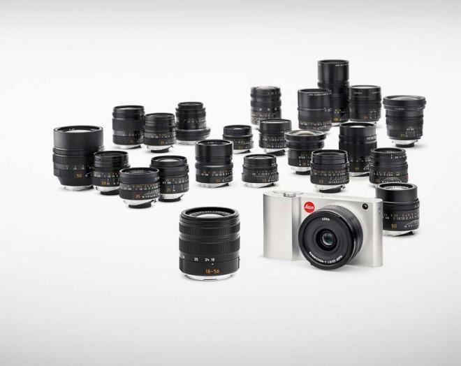 Leica T e objetivas