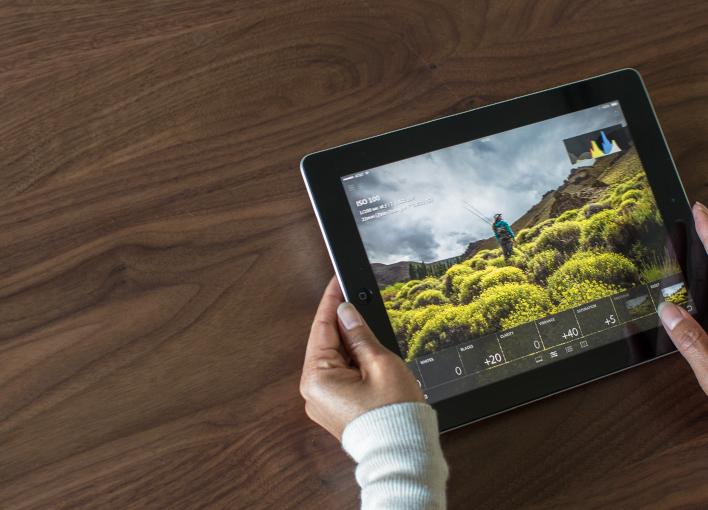 Lightroom mobile - (c) Adobe
