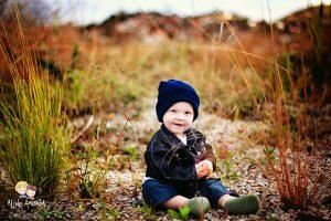 Ensaio fotográfico externo de bebês