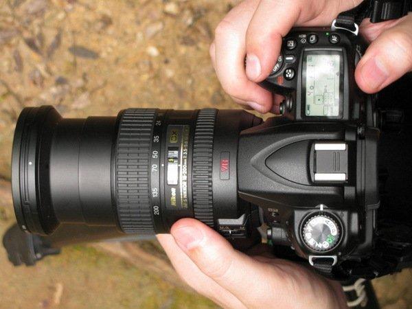 O foco nas Câmeras fotográficas digitais modernas
