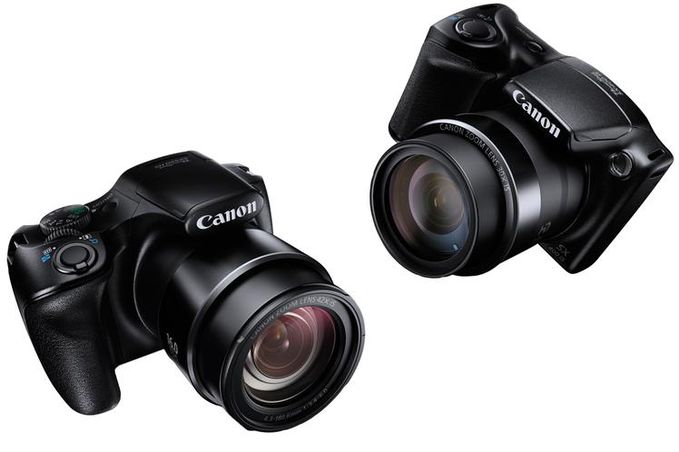 Novas superzoom Canon SX400 e SX520