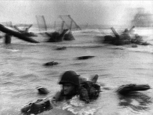 Soldado Dia D - Robert Capa