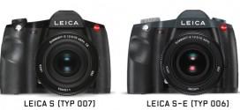 Novas médios-formatos Leica S e Leica S-E