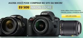 Loja virtual da Nikon agora no Brasil