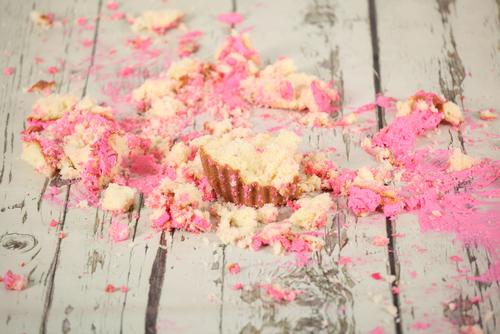 Smash the cake = desperdício