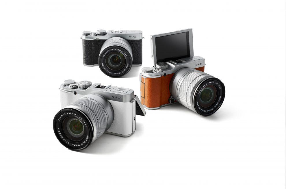 "Fujifilm lança a ""selfie-ready"" X-A2 | DG"