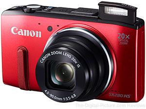 A Canon SX280 é uma das campeãs de reclamações em relação à duração da carga de sua bateria
