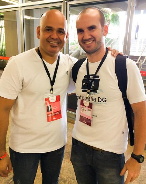 Eu e Sandro Andrade