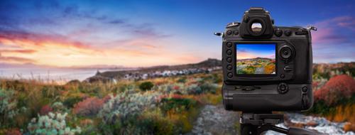 DSLR câmera via Shutterstock