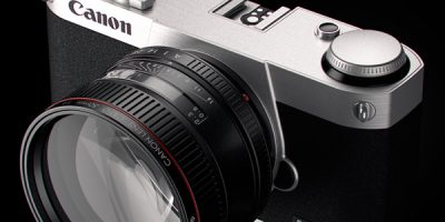 Canon nirrorless full-frame - conceito de David Riesenberg