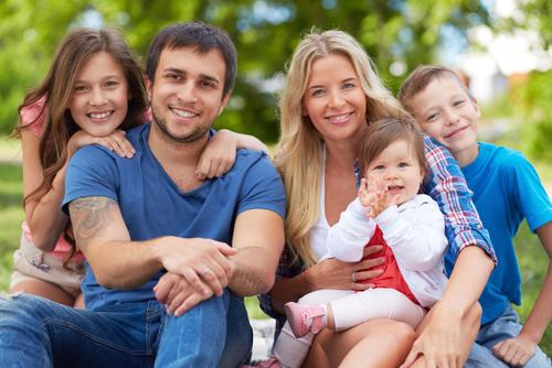 Fotografia de Família via shutterstock.com