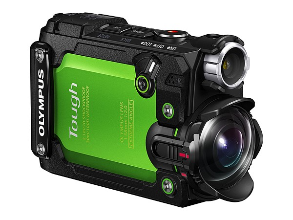 Olympus TG-tracker front