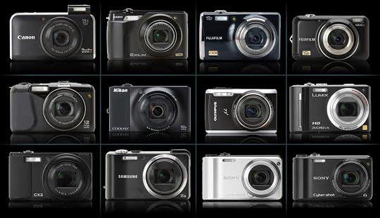 Diversas Câmeras Compactas
