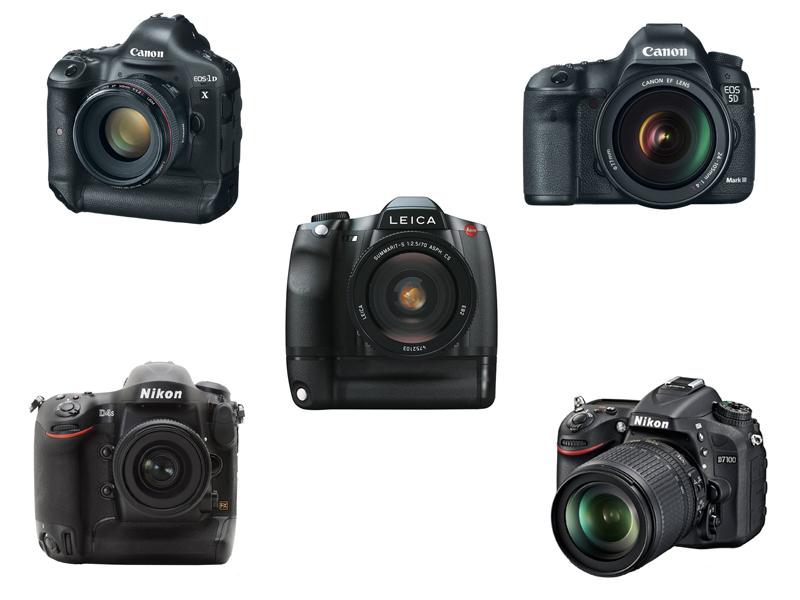 Diversas Câmeras Profissionais