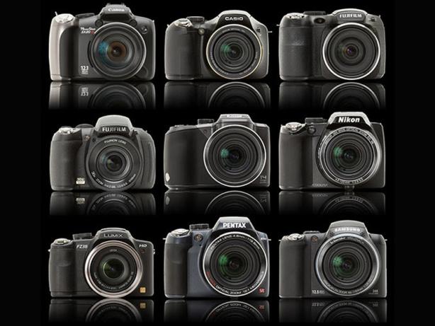 Diversas Câmeras Superzoom