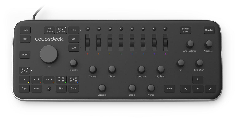 Loupedeck – um teclado específico para o Lightroom