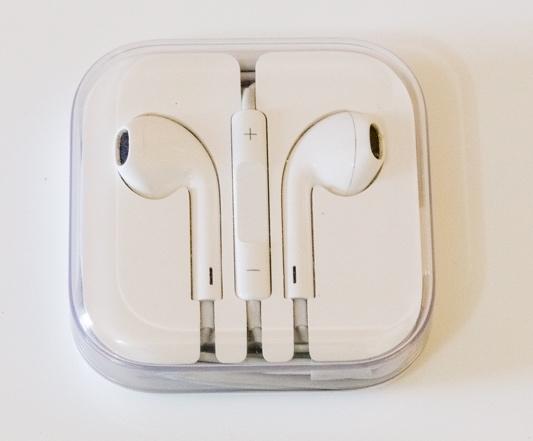 Fone de ouvido com controle de volume