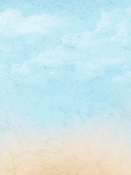 Vintage abstract nature sky with clouds background